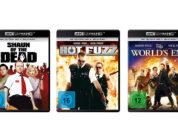 """""""Cornetto-Trilogie"""": Alle drei Filme auf 4K-Blu-ray mit deutschem DTS:X-Ton"""