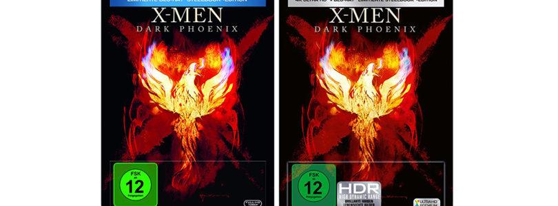 """""""X-Men: Dark Phoenix"""" auch als Steelbook auf Blu-ray und 4K-Blu-ray"""