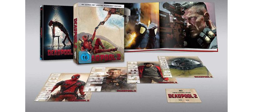 """""""Deadpool 2 – Slipsheet Edition"""": Erste Bilder und weitere Infos zum neuen Steelbook"""