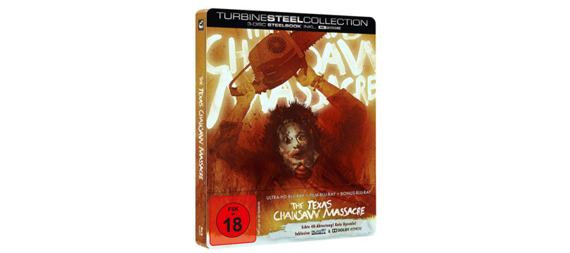 """The Texas Chainsaw Massacre"": 4K-Blu-ray als Steelbook"