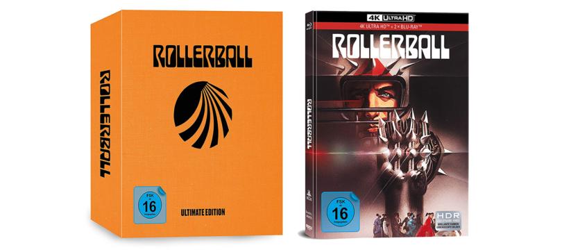 """""""Rollerball"""" erscheint auf 4K-Blu-ray als """"Ultimate Edition"""" und als Mediabook"""
