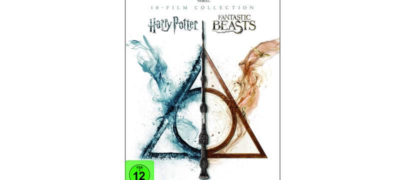 """""""Wizarding World"""": 10-Film-Collection auf 4K-Blu-ray rund um J. K. Rowlings Werke"""