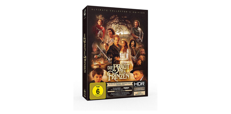 """""""Die Braut des Prinzen"""": 4K-Blu-ray in limitierter Mediabook-Edition vorbestellbar"""