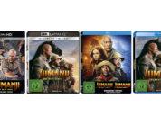 """""""Jumanji: The Next Level"""" auf 4K-Blu-ray und Blu-ray Disc vorbestellbar – auch als Steelbooks"""