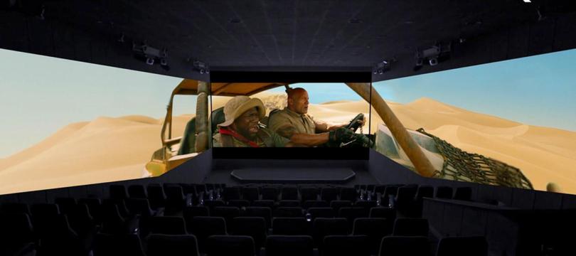 "Erster ScreenX-Kinosaal Deutschlands eröffnet mit ""Jumanji: The Next Level"""