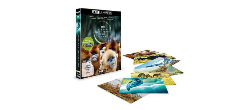 """""""Sieben Kontinente – Ein Planet"""": Exklusive Edition des 4K-Blu-ray-Sets im Vorverkauf"""