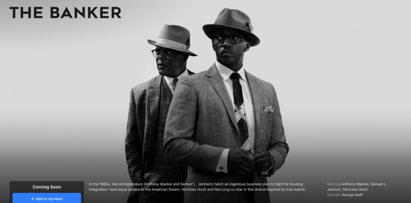 """Apple TV+ hat einen neuen Termin für """"The Banker"""""""