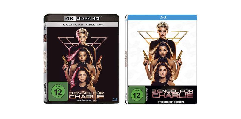 """""""3 Engel für Charlie"""": Reboot auf 4K-Blu-ray – auch als Steelbook – vorbestellbar"""