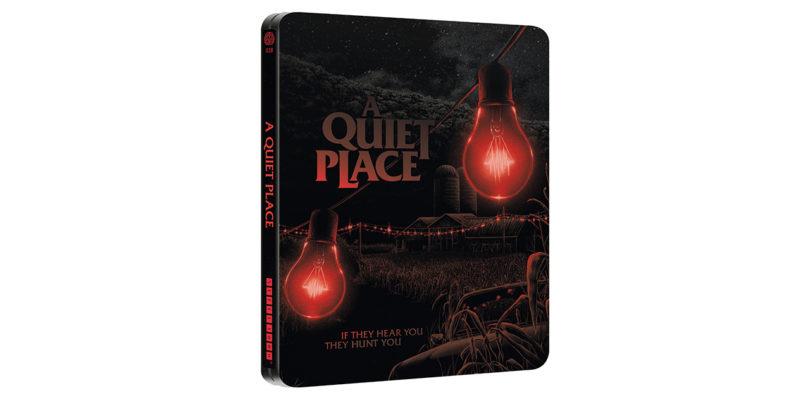 """""""A Quiet Place"""": auf 4K-Blu-ray als Mondo-Steelbook"""