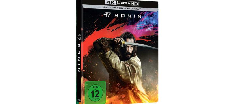 """""""47 Ronin"""": 4K-Blu-ray im Steelbook mit deutschem und englischem DTS:X-Ton"""