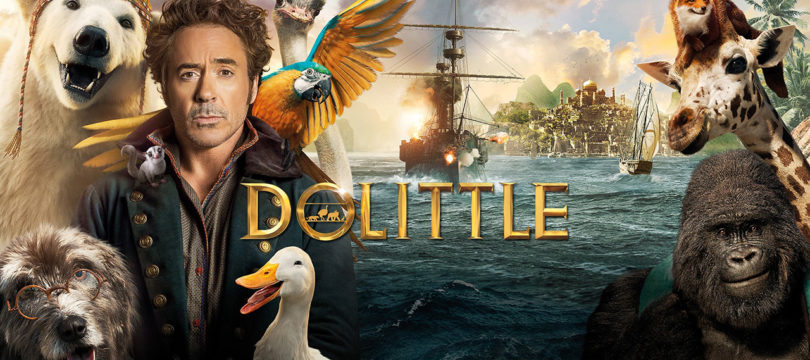 """Doolittle"": HDR10+ bei 4K-Blu-ray, englischer Atmos-Ton auch bei Blu-ray"