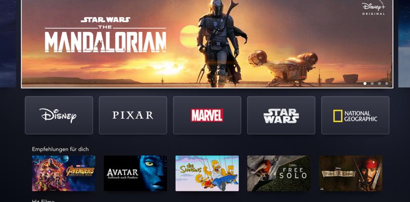 Disney+: deutsche Oberfläche und weitere Details