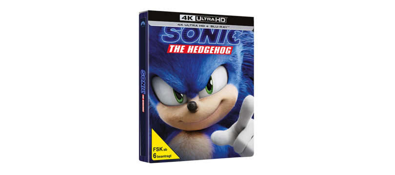 """""""Sonic The Hedgehog"""": Steelbook-Edition der 4K-Blu-ray jetzt bei Amazon vorbestellbar"""