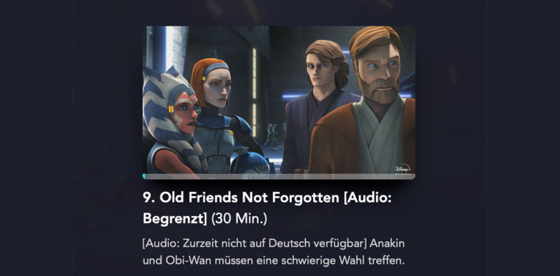Corona-Krise: Disney+ Originals ohne deutschen Ton