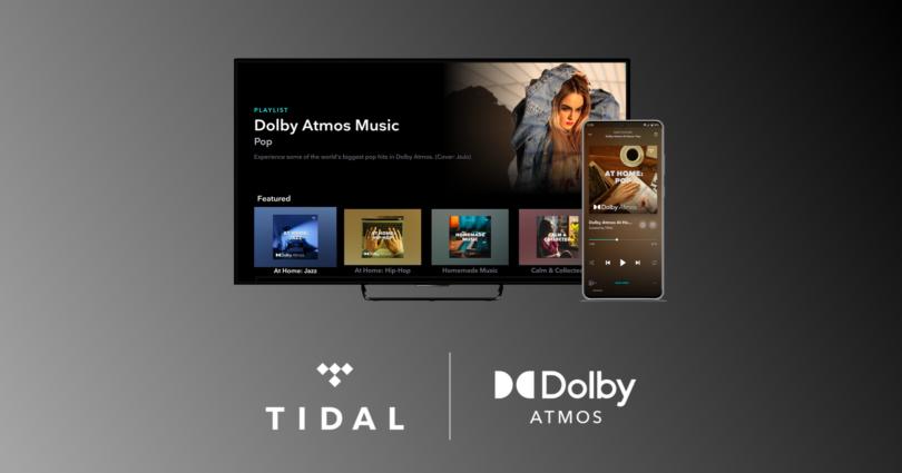 TIDAL mit Dolby Atmos ab sofort auf allen LG Smart-TVs ab 2018