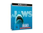 """""""Der weiße Hai"""": 4K-Blu-ray mit deutschem Atmos-Ton bei Amazon vorbestellbar"""