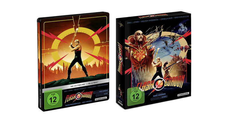 """""""Flash Gordon"""" als 4K-Blu-ray-Steelbook und Blu-ray-Digipak vorbestellbar"""