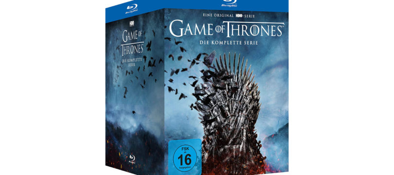 Game Of Thrones: Preiswertere Blu-ray-Komplettbox
