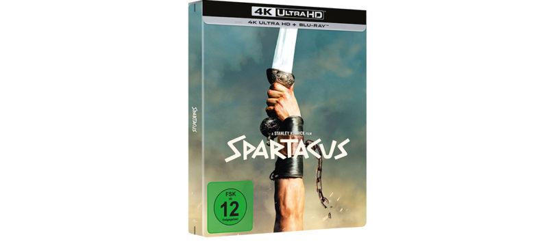 """""""Spartacus"""": Vorverkauf der limitierten 4K-Blu-ray mit DTS:X-Ton gestartet"""