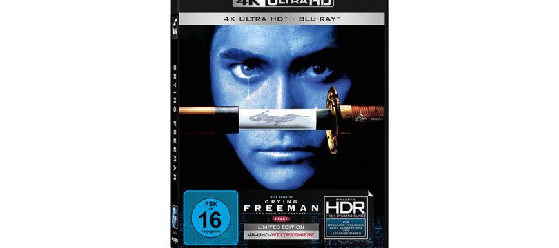 """Crying Freeman"": Amazon startet Vorverkauf der 4K-Blu-ray"