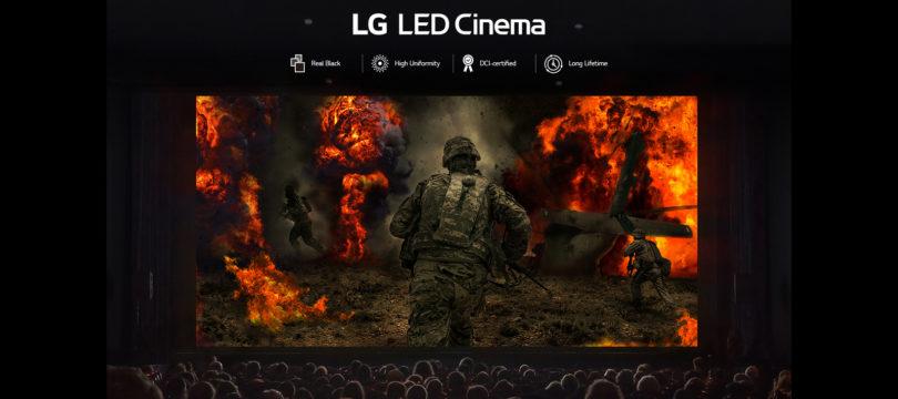 LG: Kino-Bildwand mit 14 Meter Breite und Atmos-Ton