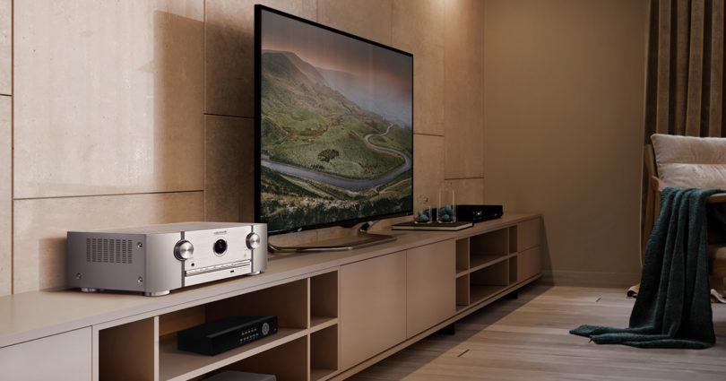 Marantz bringt 8K-fähige AV-Receiver und -Verstärker auf den Markt