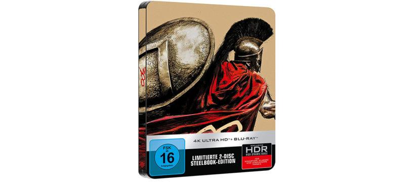 """""""300"""" erscheint auf 4K-Blu-ray als limitiertes Steelbook"""