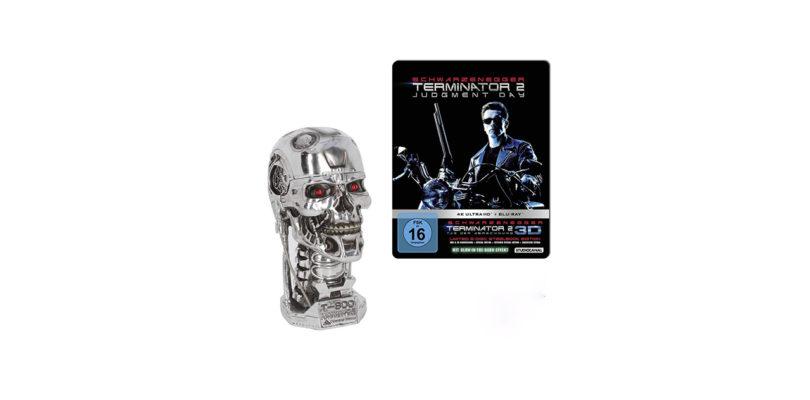 """Jetzt im Vorverkauf: """"Terminator 2"""" als 4K-Steelbook-Edition mit """"Metal Head"""""""