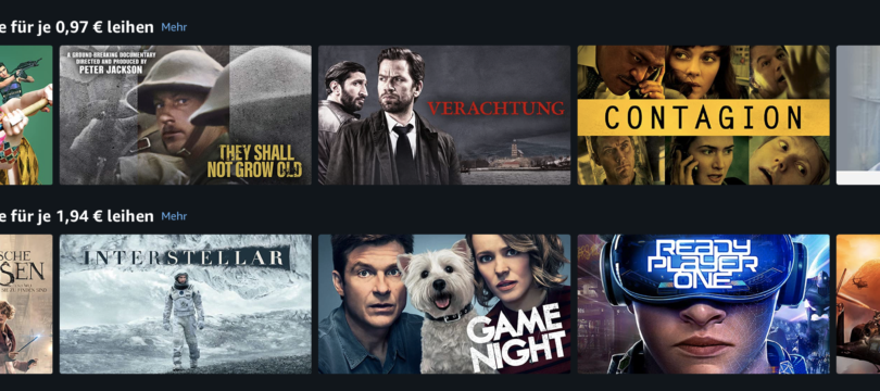 Amazon Video vs. iTunes: Massenweise Mietfilme ab 0,97 Euro