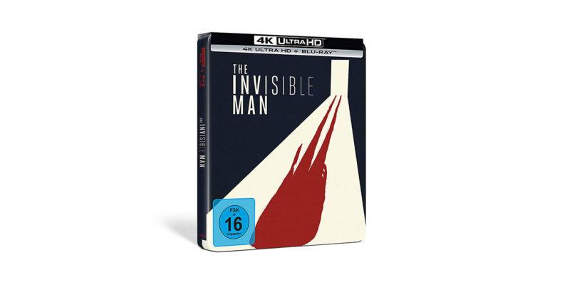 """""""Der Unsichtbare"""": auf 4K-Blu-ray noch mal als Steelbook"""