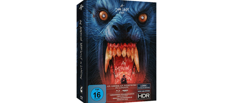 """An American Werewolf in London"" als ""Ultimate Edition"" erstmals auf 4K-Blu-ray (Update)"