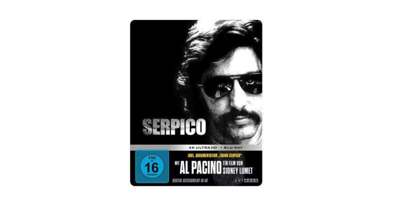 """""""Serpico"""" erstmals auf 4K-Blu-ray – als Steelbook"""