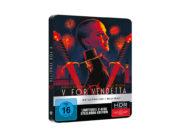 """""""V wie Vendetta"""" erscheint auf 4K-Blu-ray in Steelbook-Edition (2. Update)"""
