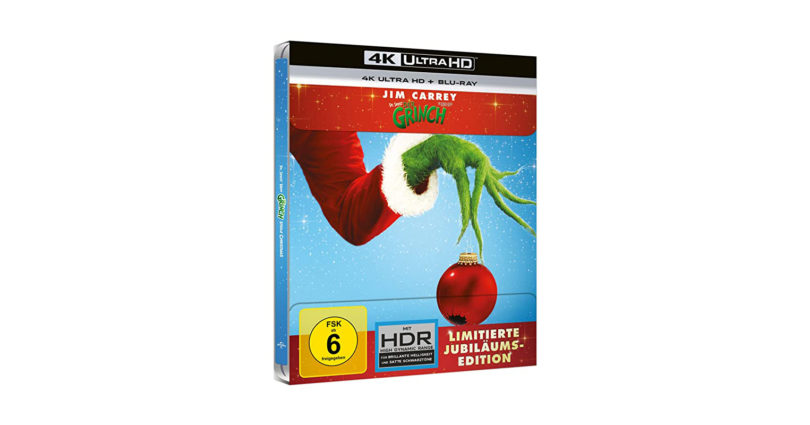 """""""Der Grinch"""": 4K-Blu-ray im Steelbook zum Jubiläum"""