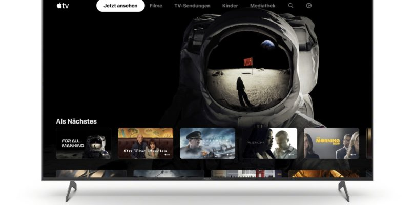 Sony bringt Apple-TV-App auf ausgewählte Smart-TVs