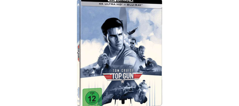 """Top Gun"": 4K-Blu-ray erscheint in Steelbook-Edition (Update)"