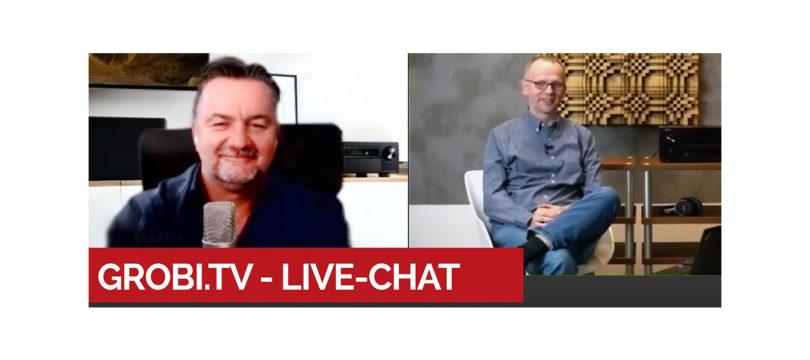 Heute um 19:30 Uhr Live-Chat bei Grobi.TV rund ums Denon-Update