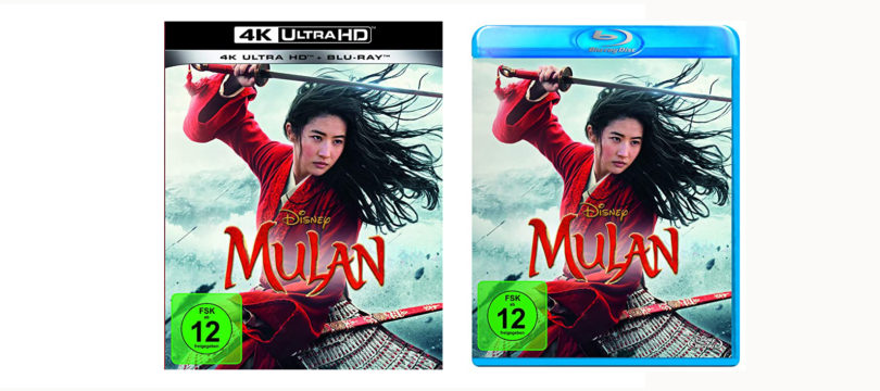"""Mulan"" bereits im November auf Blu-ray und 4K-Blu-ray (mit Dolby Atmos)"
