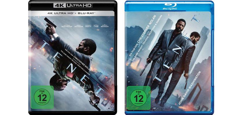 """""""Tenet"""": 4K-Blu-ray und Blu-ray jetzt im Vorverkauf – auch als Steelbooks (3. Update)"""