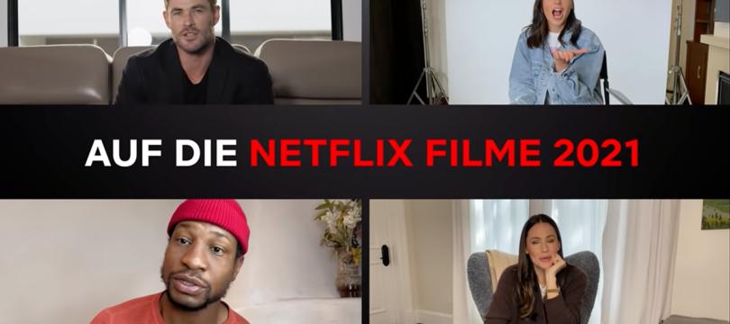 Netflix will 2021 jede Woche einen neuen Film zeigen