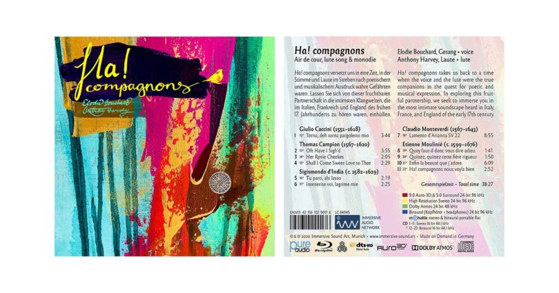 """""""Ha! Compagnons"""": Pure Audio Blu-ray mit Musik in Auro-3D und Dolby Atmos"""