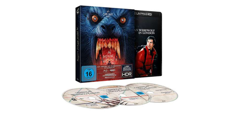 """An American Werewolf in London"" als ""Special Edition"" nochmals auf 4K-Blu-ray (Update)"