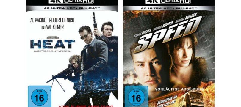 """""""Heat"""" und """"Speed"""" feiern im Mai 4K-Blu-ray-Premiere (Update)"""