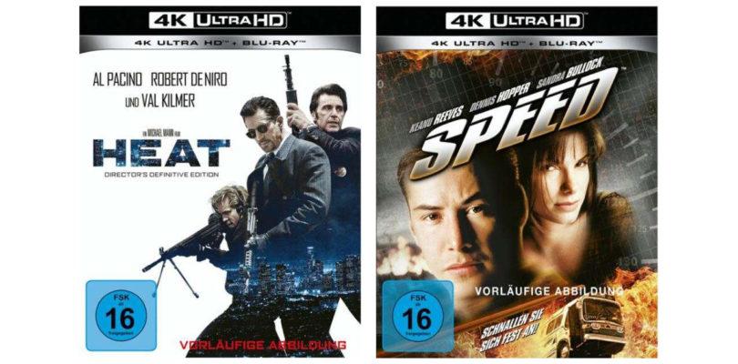 """""""Heat"""" und """"Speed"""" feiern im Mai 4K-Blu-ray-Premiere (2. Update)"""