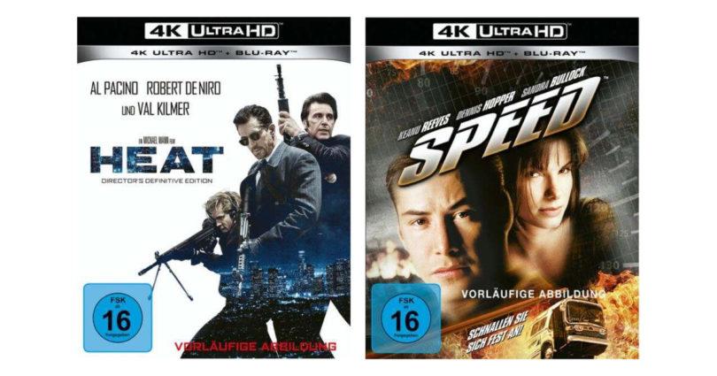 """""""Heat"""" und """"Speed"""" feiern im Mai 4K-Blu-ray-Premiere (4. Update)"""