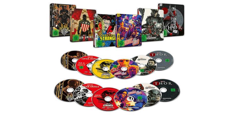 Marvel-Filme erscheinen auf 4K-Blu-rays als Mondo-Steelbooks