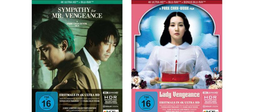 """""""Vengeance""""-Trilogie: Fehlende Teile auf 4K-Blu-ray mit Dolby Vision und HDR10+ (Update)"""