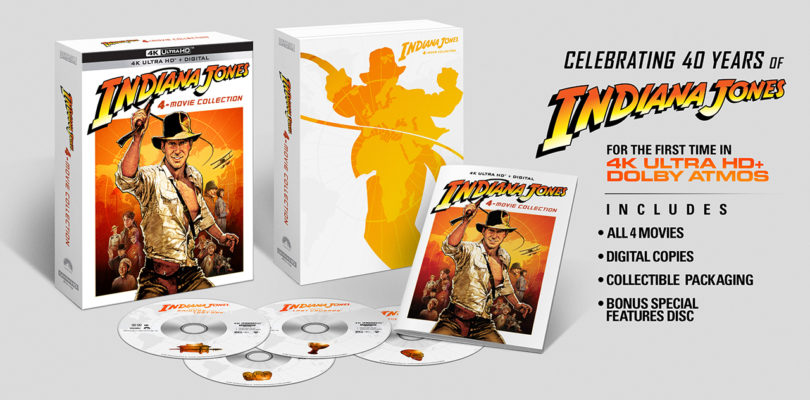 """Indiana Jones"": Paramount bringt 4K-Boxset mit allen Teilen (Update)"