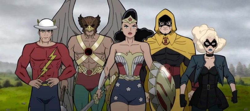 """iTunes: """"Justice Society: World War II"""" ab April in 4K/Dolby Vision"""