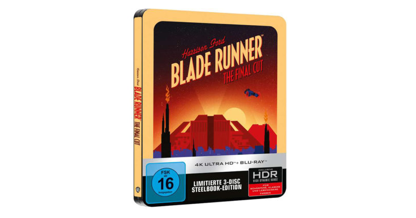 """Sony Pictures: """"Blade Runner"""" als 4K-Blu-ray auf Steelbook"""